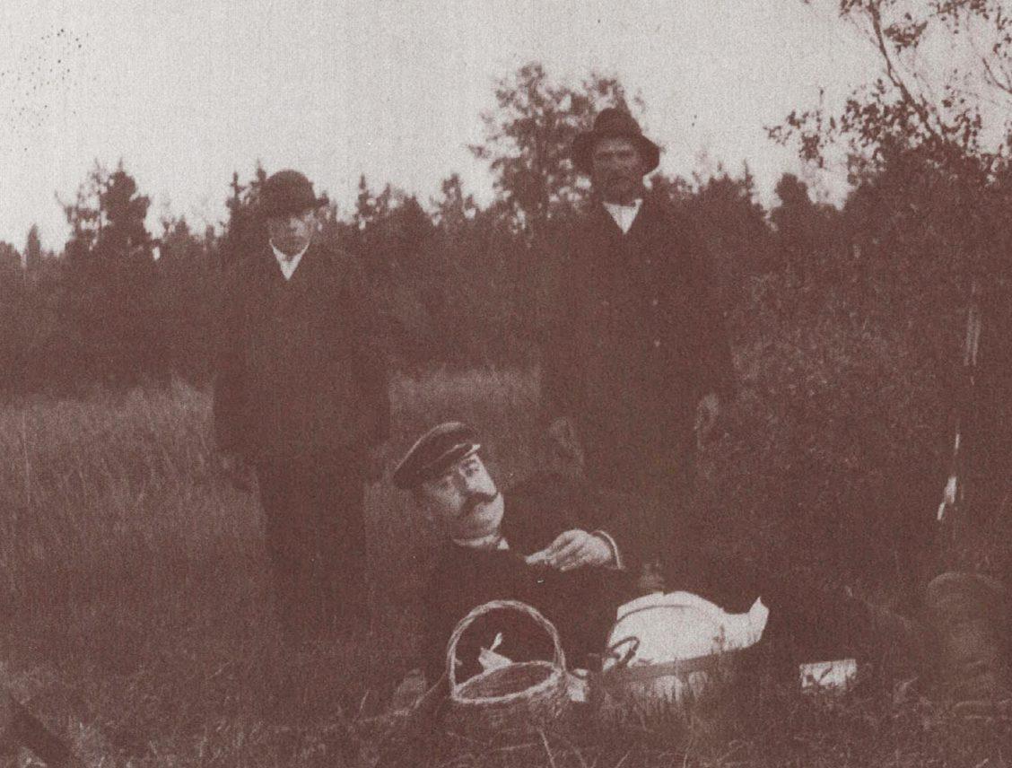 Paul Sergejeff metsällä 1910-luvulla