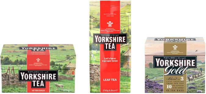 Yorkshire-teet